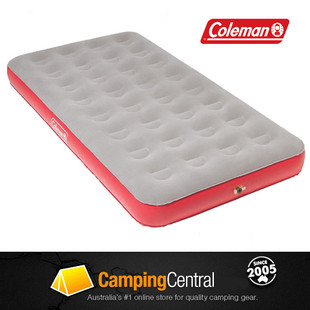 Coleman King Single XL Air Quick Bed (Twin Flocked) Mattress Inflatable Mat
