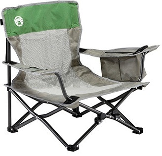 Coleman Deluxe Event (Low Seating) Mesh Beach Picnic Folding Portable Camping