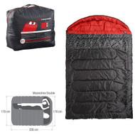 CARIBEE MOONSHINE DOUBLE SLEEPING BAG