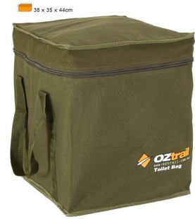 Portable outdoor camping toilet carry bag OZtrail