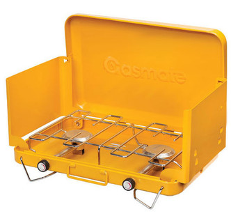 GASMATE 2 BURNER Gas Camping Camp Portable Stove (1095H) Cooker