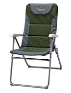 OZtrail Resort Folding Camping and Reclining Deck Chair