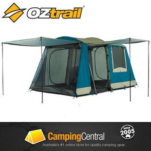 OZtrail Sundowner 2 Room 6P Family camping Tent