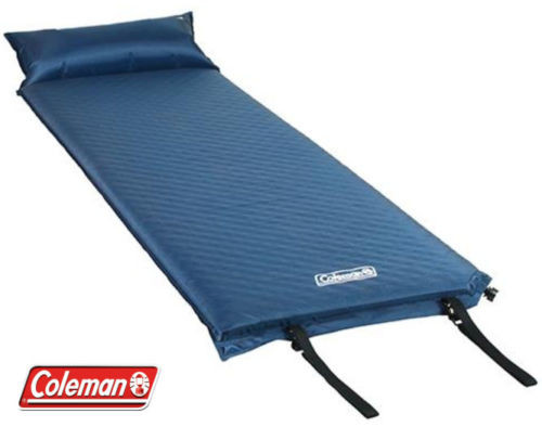 Coleman Self Inflating Mat Pillow Mattress Air Bed Camp Bed Foam