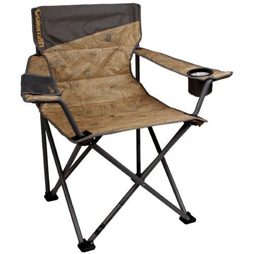 Coleman Quad Reclining Recliner Chair Folding Portable