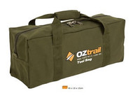 OZTRAIL CANVAS TOOL CARRY BAG (46x18x15cm)