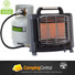 GASMATE BH203 PORTABLE BUTANE GAS CAMPING CAMP OUTDOOR TENT HEATER INCLUDES HOSE