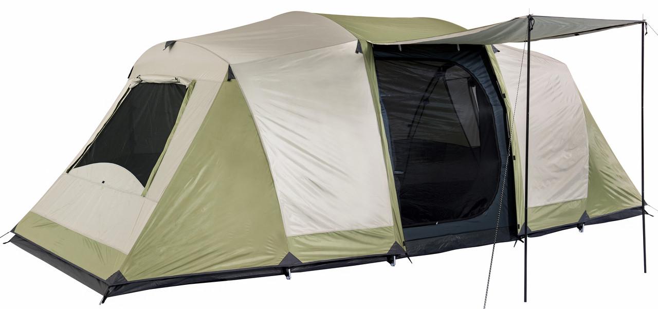 super popular 4793d 199ec OZTRAIL SEASCAPE (3-ROOM) SLEEPS 10 Dome Family 10 Man Person Tent NEW