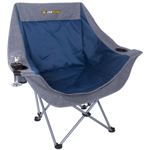 OZTRAIL MOON CHAIR SINGLE - FRONT VIEW