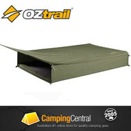 OZtrail Cooper Double Canvas Swag - unrolled