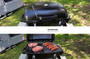 Gasmate Voyager BBQ (open with food)