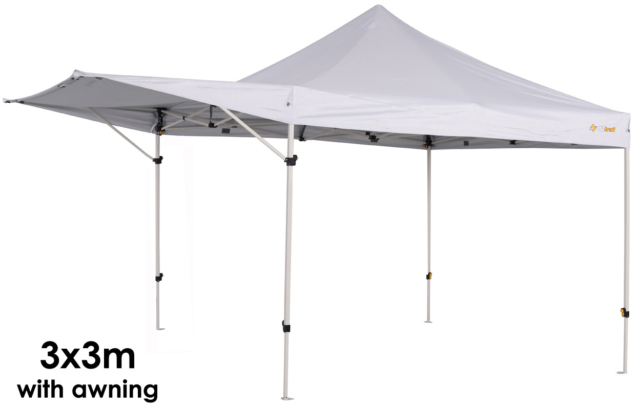 OZtrail Compact Gazebo Marquee Awning Market Stall 2.4 x 2 ...