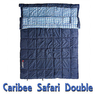 Caribee Safari Double Sleeping Bag
