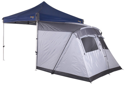 Oztrail 3mtr Portico Pod Tent - attachment for Deluxe Gazebo