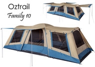 Oztrail Family 10 Tent - Sleeps upto 10 people