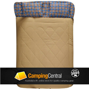 Oztrail Nullarbor Double Sleeping Bag for 2 people