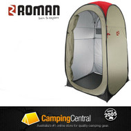 Roman Pop Up Shower Tent Ensuite Change Room Toilet - Interior