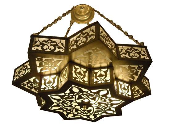 Moroccan chandelier Lighting  sc 1 st  E Kenoz & Moroccan Pendant Lights | Hanging Light Fixture | Moroccan ... azcodes.com