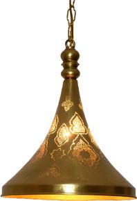 Gramaphone pendant lamp