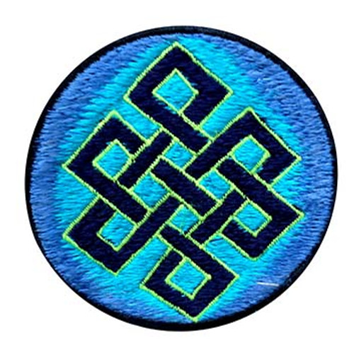 Small Embroidered Patch With Unbroken Chain (3 inches)