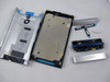 Full Housing Cover with Side Keys for Sony Xperia P -Silver