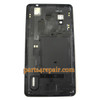 Back Cover for LG Optimus G E975 -Black