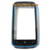 Nokia Lumia 610 Touch Screen with Bezel -Blue in www.parts4repair.com