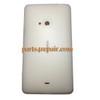 Back Cover for Nokia Lumia 625 -White