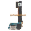 Dock Charging Flex Cable for HTC One mini from www.parts4repair.com