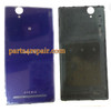 Back Cover for Sony Xperia T2 Ultra XM50H -Purple from www.parts4repair.com