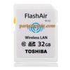 Toshiba FlashAir WIFI WIRELESS SDHC 32GB Class 10 Flash Memory from www.parts4repair.com