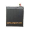 2100mAh Built-in Battery for HTC One X + from www.parts4repair.com
