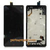 Complete Screen Assembly with Bezel for ZTE Nubia Z7 mini NX507J from www.parts4repair.com