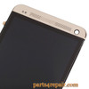 Complete Screen Assembly with Bezel for HTC One -Gold