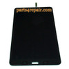 Complete Screen Assembly for Samsung Galaxy Tab Pro 8.4 T320 (WIFI Version) -Black from www.parts4repair.com