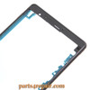 Front Housing Cover with Side Keys for Sony Xperia Z3 -Black