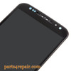 Complete Screen Assembly with Bezel for Motorola Moto X2 XT1096 (for Verizon) -Black