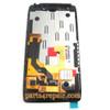 Complete Screen Assembly with Bezel for Motorola RAZR HD XT925 -Black