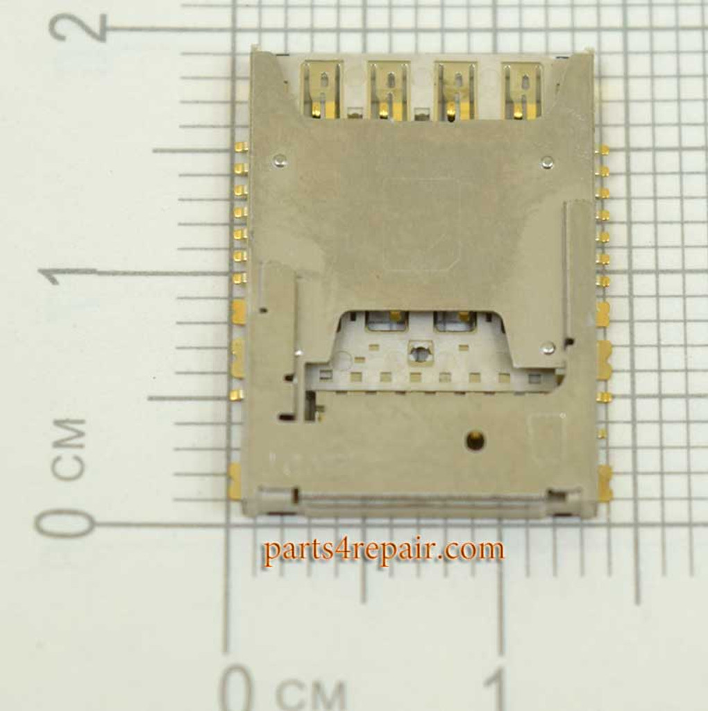 2 in 1 SIM Contact Holder for LG G Pro 2 D838 from www.parts4repair.com