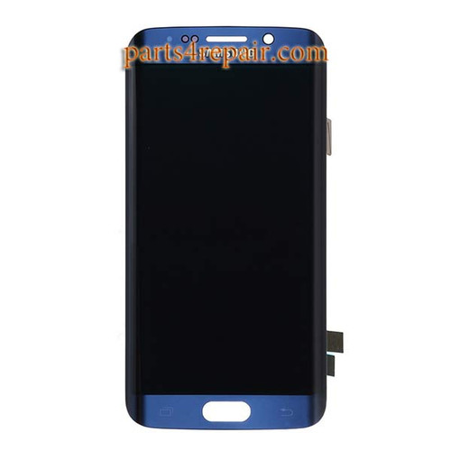 Complete Screen Assembly for Samsung Galaxy S6 Edge All Versions -Sapphire