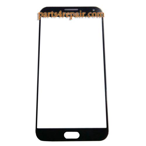 Front Glass OEM for Samsung Galaxy E7 SM-E700 -Blue