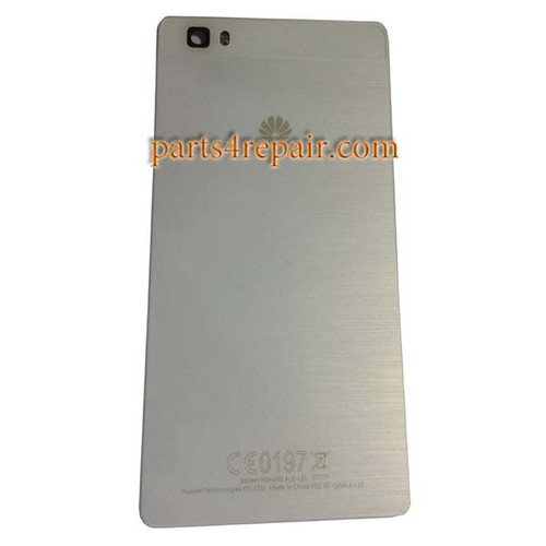 Back Cover for Huawei P8 Lite -White