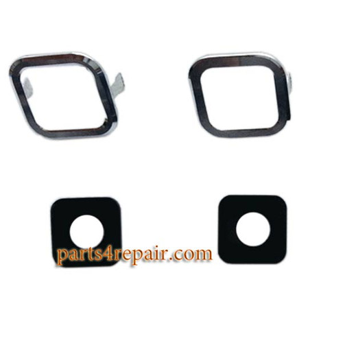 Camera Cover & Lens with Adhesive for Samsung Galaxy Grand 2 G7102