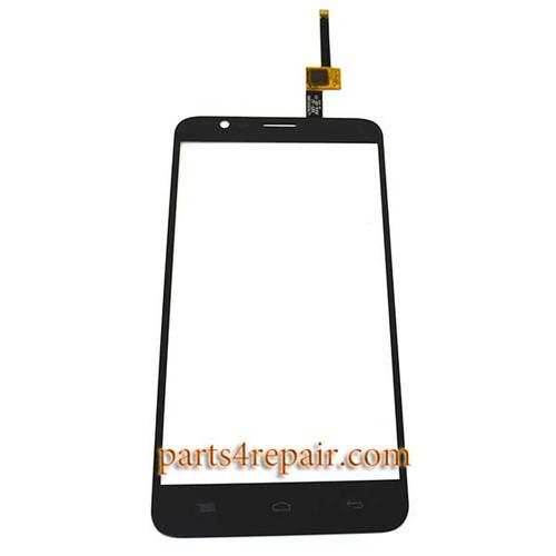Touch Screen Digitizer for Alcatel OT-6042D (Refurbished) -Black