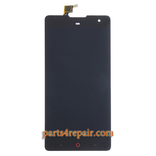 Complete Screen Assembly for ZTE Nubia Z7 Max NX505J -Black