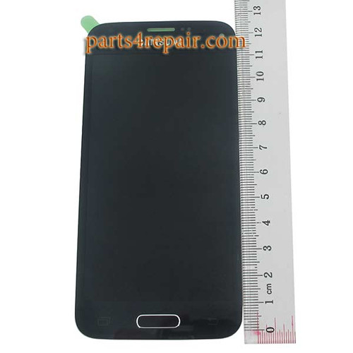 Complete Screen Assembly with Home Button for Samsung Galaxy S5 mini G800F G800H -Black