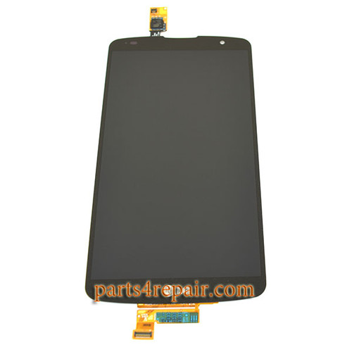 Complete Screen Assembly for LG G Pro 2 F350 D837 D838 -Black