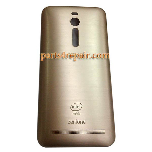 Back Cover for Asus Zenfone 2 ZE551ML ZE550ML -Gold