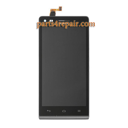 Complete Screen Assembly with Bezel for Huawei Ascend G6 -Black
