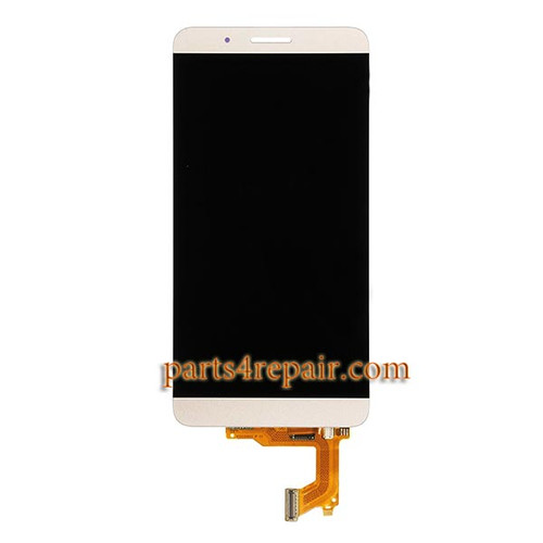 Complete Screen Assembly for Huawei Honor 7i -Gold